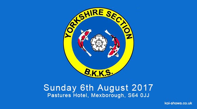 2017 Yorkshire Section Show Poster Released
